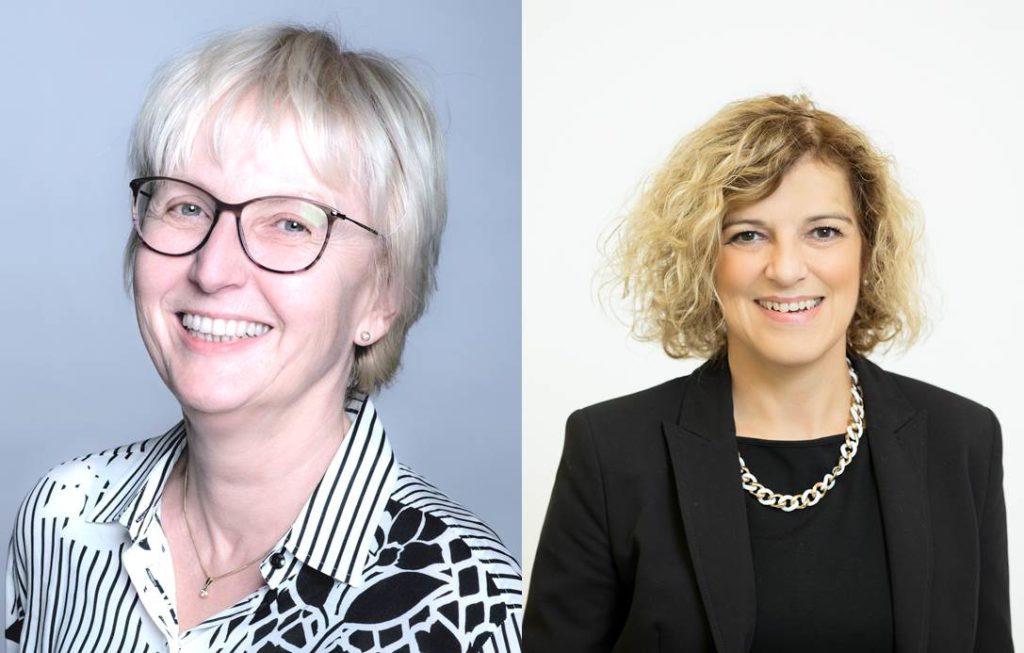 Gabriele Winkler-Rigler und Barbara Huemer