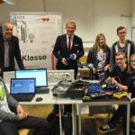 Axel Zafoschnig zu Besuch in der virtuellen Klasse