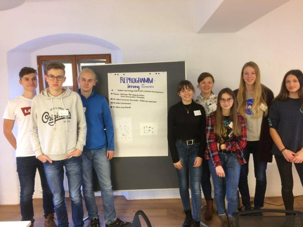 Schülerinnen und Schüler des Clusters Bad Aussee.